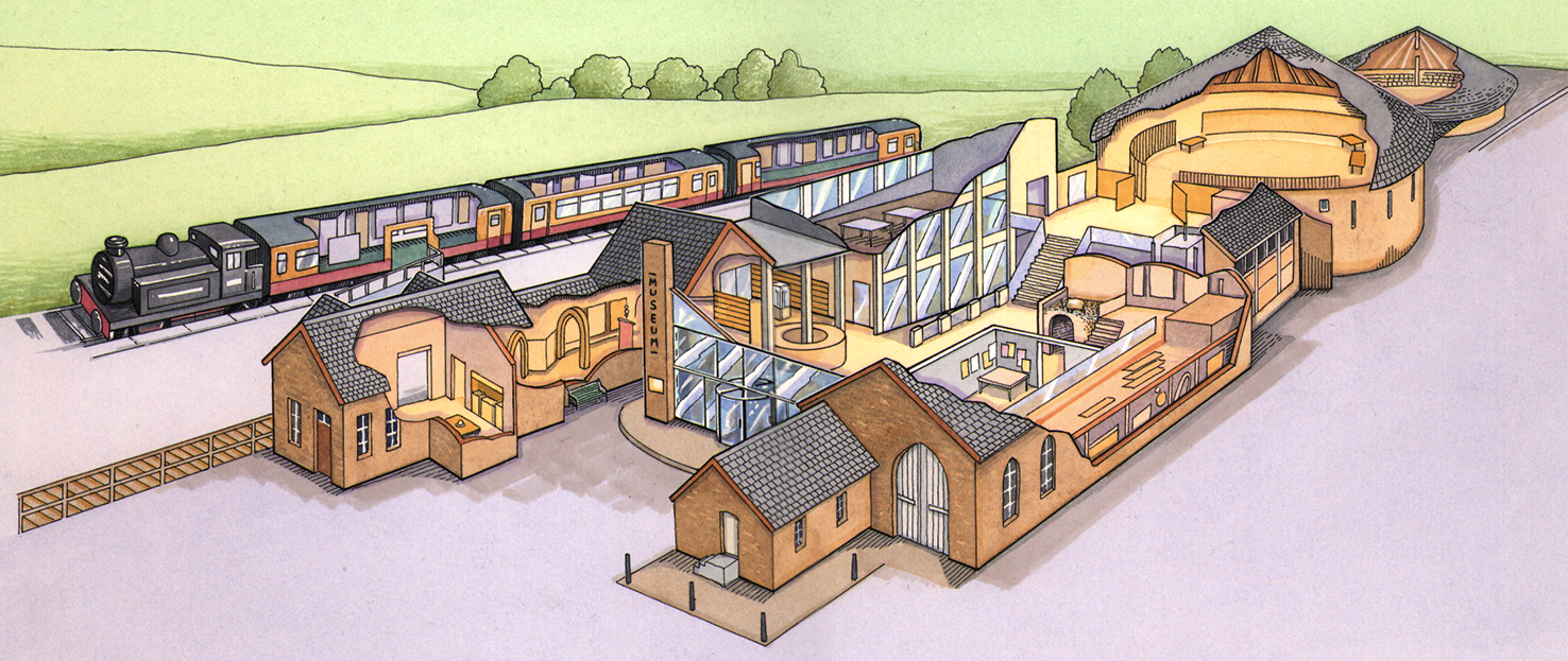 Visitor's Centre Cutaway