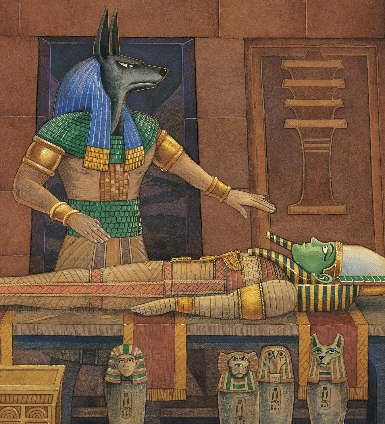 Osiris Burial