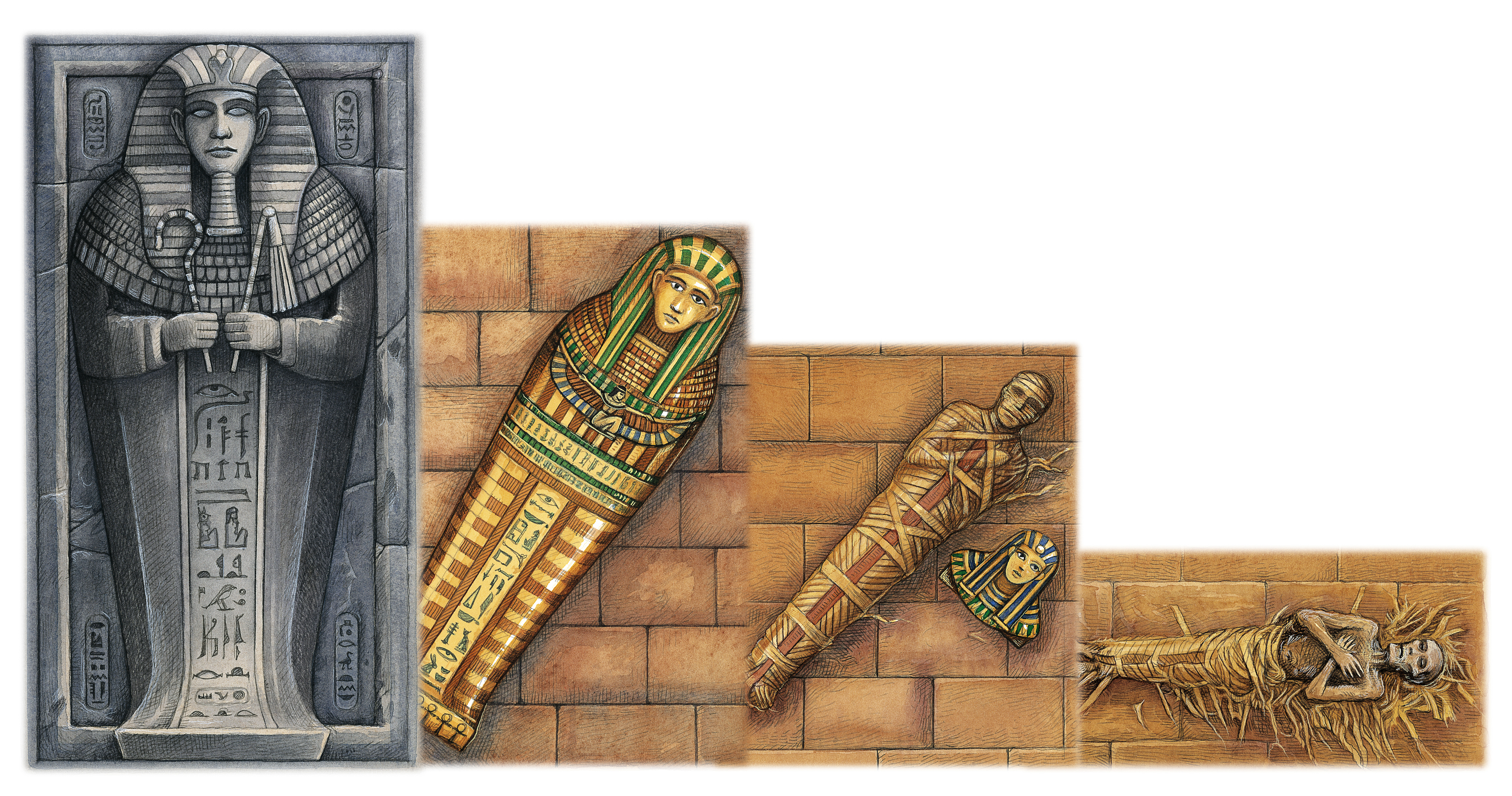 Egyptian Mummy Casing
