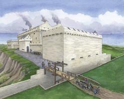 Craignethan Castle, Reconstruction