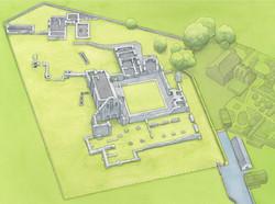 Glenluce Abbey Groundplan