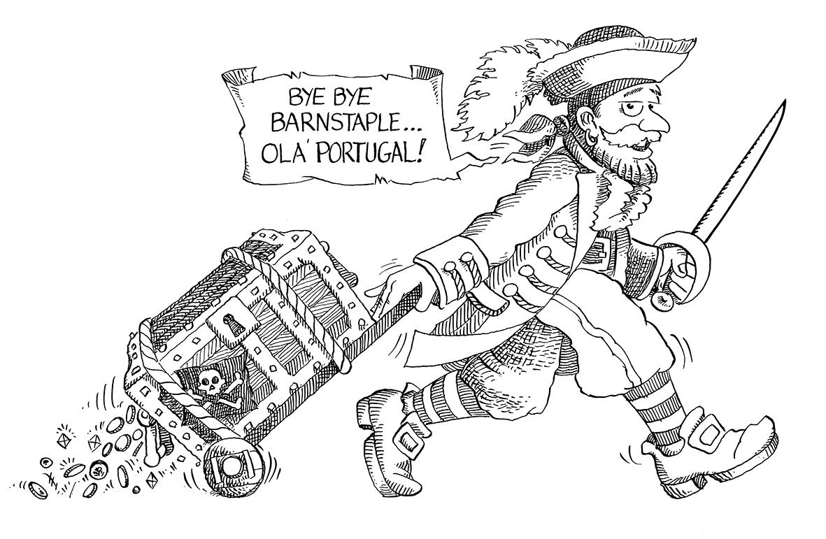 1753 Thomas benson MP and Pirate