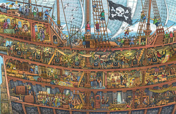 Pirate Ship Cutaway