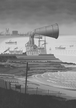 The Old Foghorn at South Gare LR