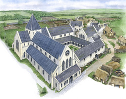 Glenluce Abbey Reconstruction 1500