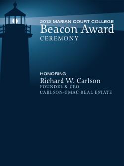 Beacon Awards Logo & Invitation