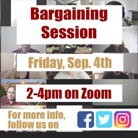 Regular Bargaining is BACK!