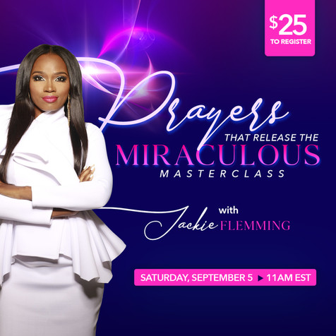 Prayers That Release The Miraculous Mast