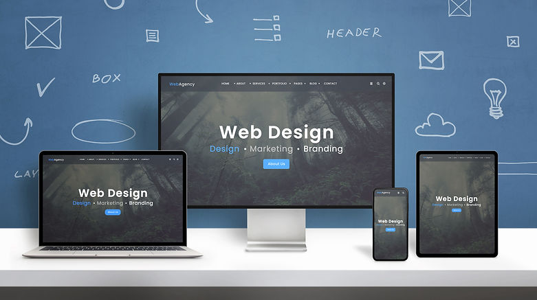 Web design studio web site responsive de