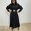 Thumbnail: Chiffon Dress Black