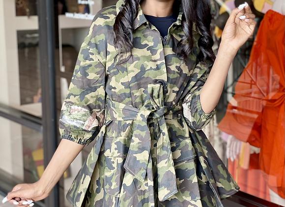 Army Peplum Jacket