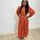 Thumbnail: Orange polkadot dress