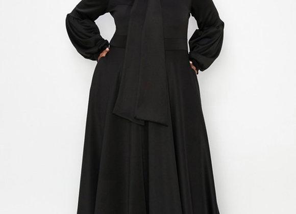 Flare Pleated Dress
