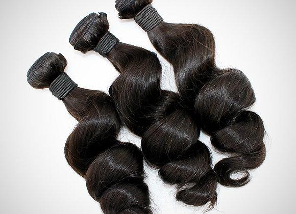 Loose Wave Hair Bundle (Luxury)