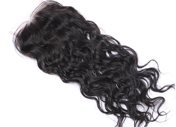 Premium Lace 4x4 Closure Natural wave