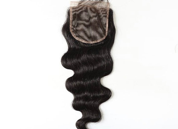 Lace Closure Indian Straight