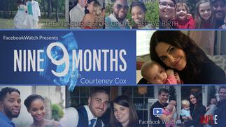9 Months with Courteney Cox