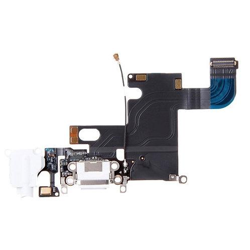 iPhone 6 oplader port, Aux-stik og mikrofon