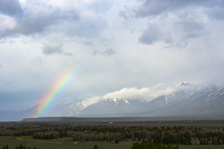 Grand Teton NP Rainbow