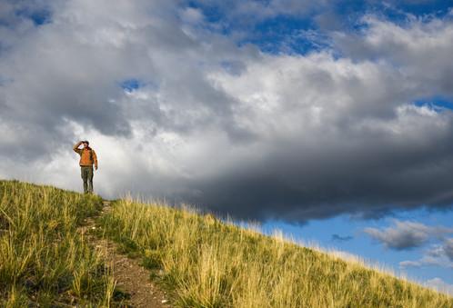 On top of the world, Grand Teton Nationa