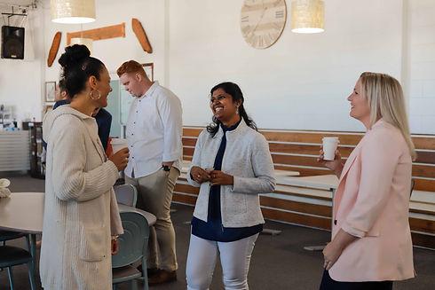 Ladies talking in foyer.jpg