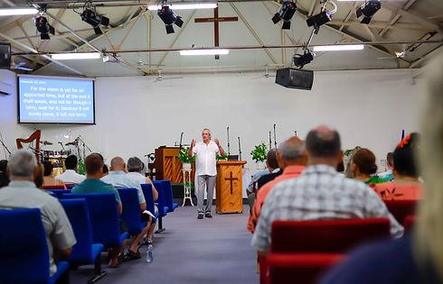 Pastor Keith Christier speaking.jpg