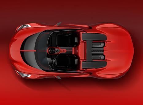Bugatti Chiron Cabriolet