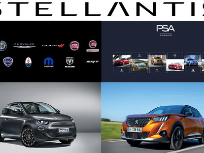 Fiat + PSA = Stellantis