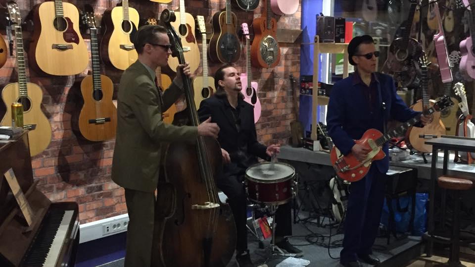 Livemusik på Django i Varberg
