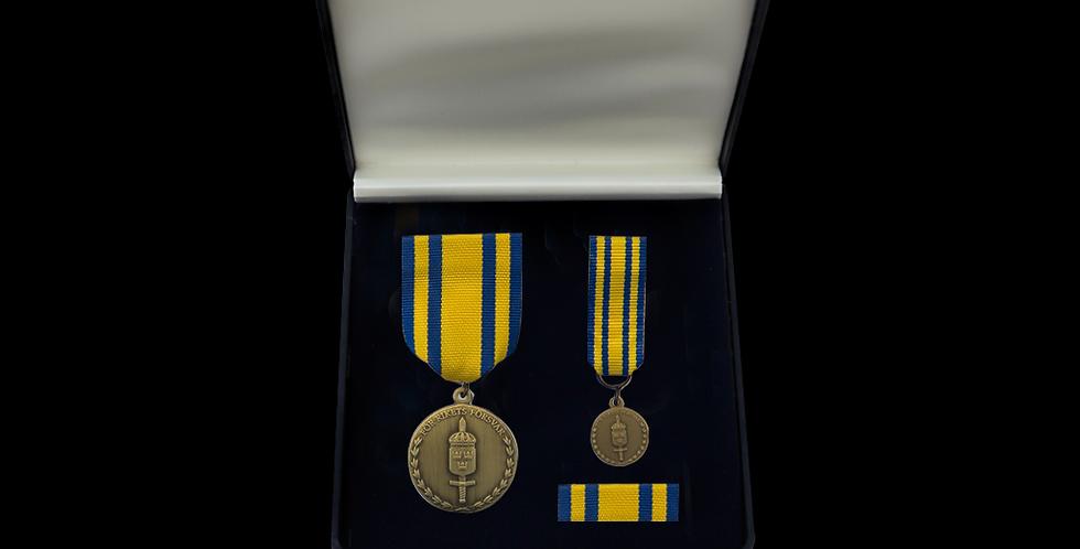 GSS Brons - Försvarsmaktens tjänstgöringsmedalj för rikets försvar