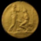 Nobelmedaljens frånsida