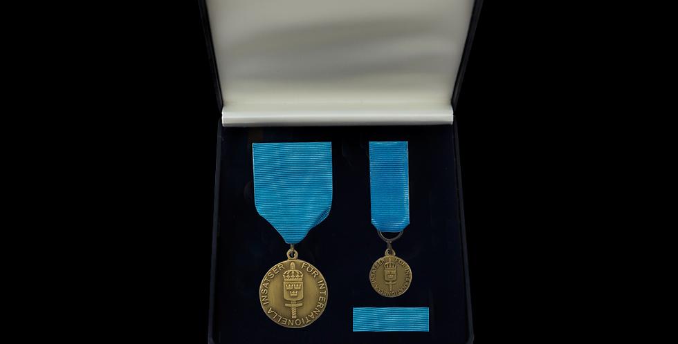 FMintBM - Försvarsmaktens medalj för internationella insatser i brons