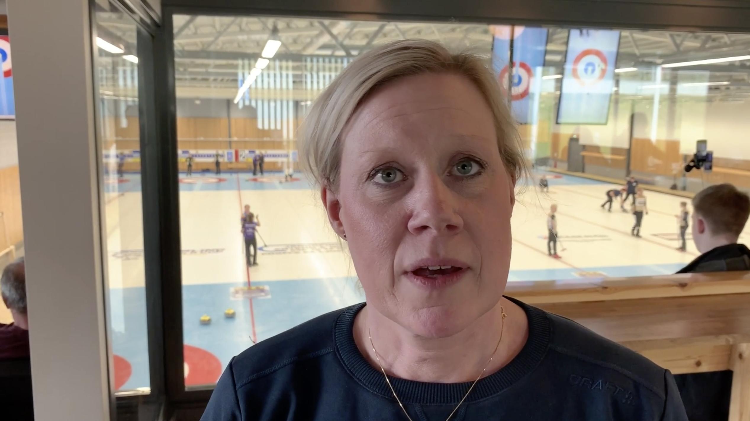 Intervju Maria Prytz, förbundskapten curling