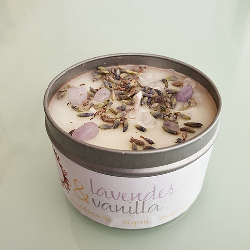 WITCHWOOD Lavender & Vanilla Soy Wax Candle - 100ml