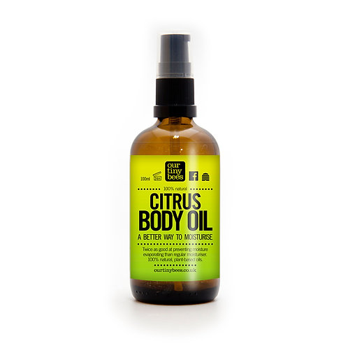Our Tiny Bees - Citrus Body Oil