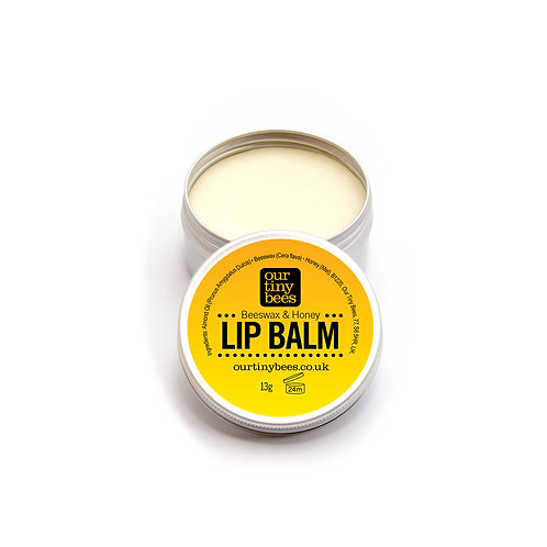 Our Tiny Bees - Beeswax and Honey Lip Balm