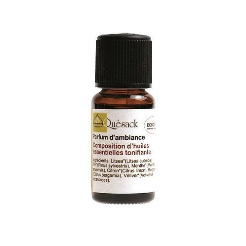 QUESACK - Essential oil blend  ENERGISING 15 ml