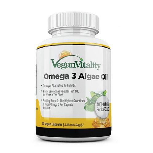 Vegan Vitality Omega 3 Algae Oil