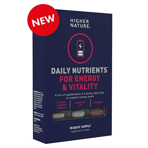 Higher Nature Daily Nutrients for Energy & Vitality