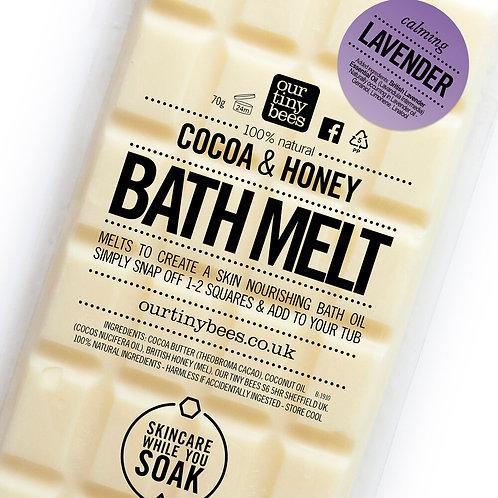 Our Tiny Bees - Lavender Bath Melt