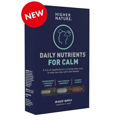 Higher Nature Daily Nutrients for Calm