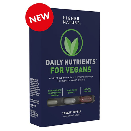 Higher Nature Daily Nutrients for Vegans