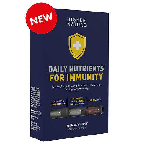 Higher Nature Daily Nutrients for Immunity