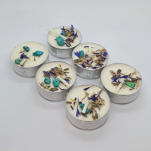 WITCHWOOD Bluebell & Lavander Soy Tealights x6