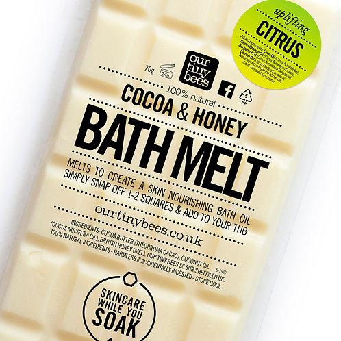 Our Tiny Bees - Citrus Bath Melt