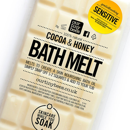 Our Tiny Bees - Sensitive Bath Melt