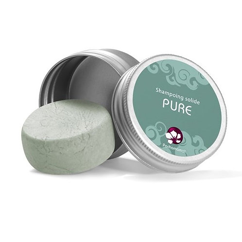 Pachamamaï PURE solid shampoo travel format - normal hair