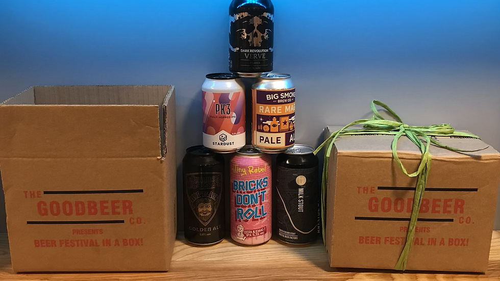 July 'Beer Festival In a Box'