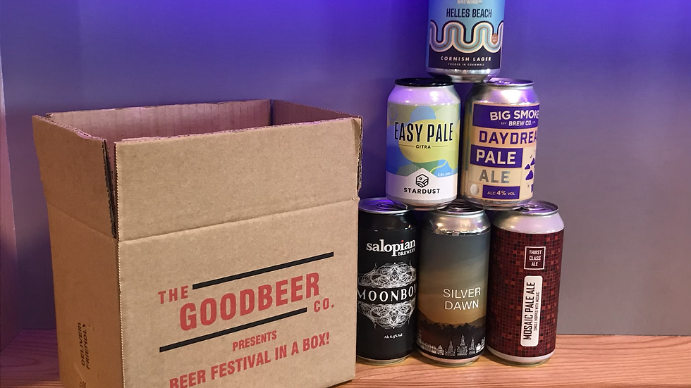 June 'Beer Festival In A Box'