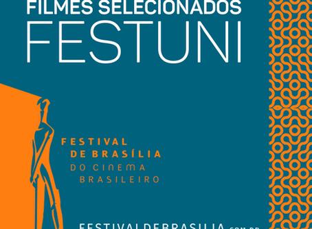 """""""Flowers"""" in II FESTUNI at 51º Festival de Brasília do Cinema Brasileiro."""